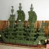 广东商务 酒店礼品 开业庆典 一帆风顺 生意兴隆 3米南玉 龙船